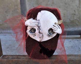 Specter #2 - OOAK Art Doll
