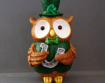Lucky the Owl Figurine