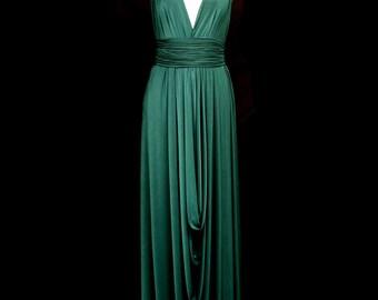 Moira Draped Jersey Maxi Dress - Made to Order - FREE SHIPPING WORLDWIDE