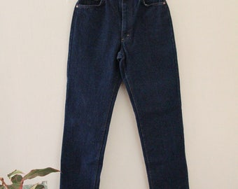 80's Dark Wash Lee Jeans