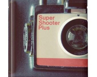 iPhone Case Vintage Camera Film Photography Mid Century Modern Yellow Black