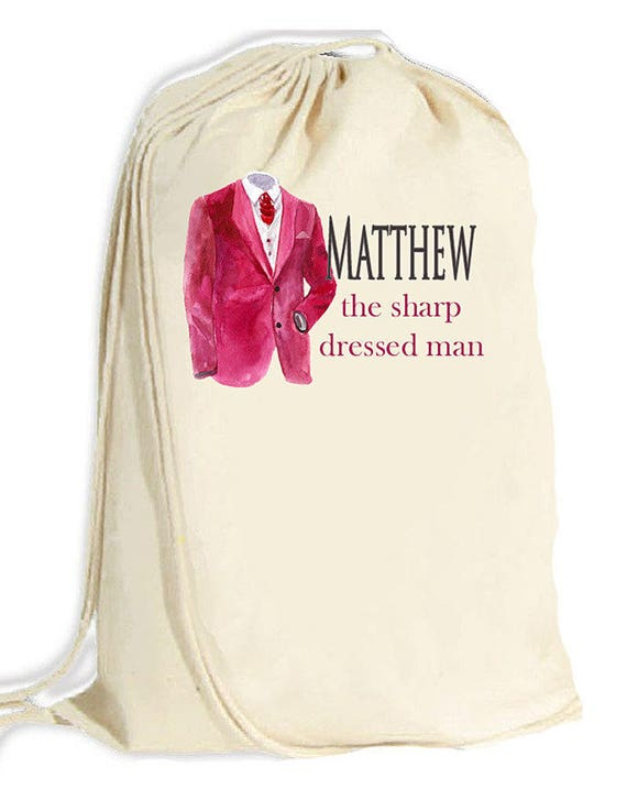 Large Laundry Bag / Man's laundry duffle bag / laundry totebag / college laundry bag / masculine laundry bag / monogrammed laundry bag