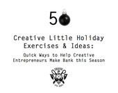 Etsy Seller Download: 50 Creative Holiday Exercises & Ideas - Quick Ways to Help Your Etsy Shop Make Bank this Season