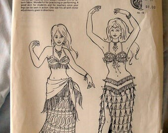 Sale Atira's Fashion Khariya's Skirt Pattern Costume Belly Dancing