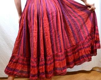 Vintage Gauzy Hippie Skirt - Amerikan Climax