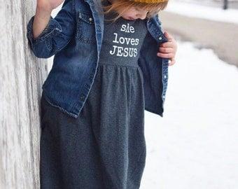 She Loves Jesus dress