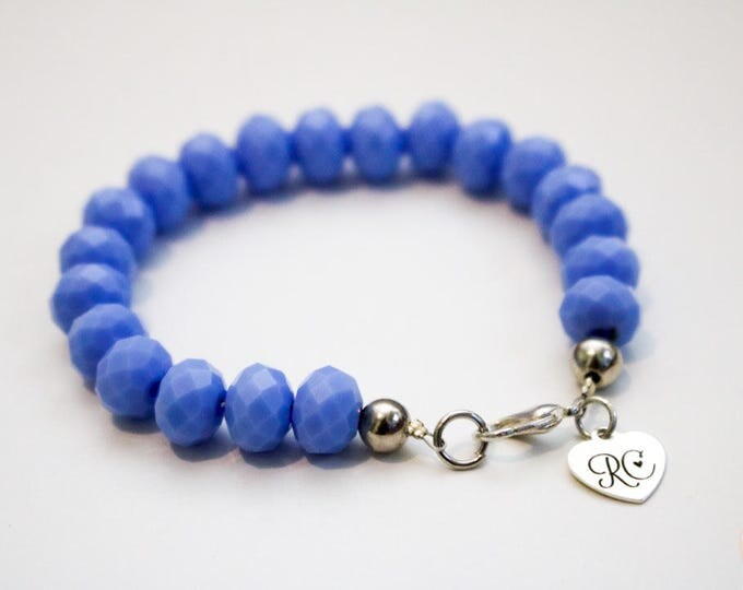 RC Signature Bracelet in Opaque Light Blue