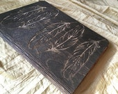 Laser Cut and Engraved Wooden Notebook Holder