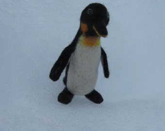 OOAK Needle Felted Little Penguin