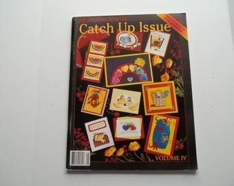 The Stamper Sampler  Catch Up Issue  Volume IV   Published 2000  By Stampington and Company Full Color Periodical