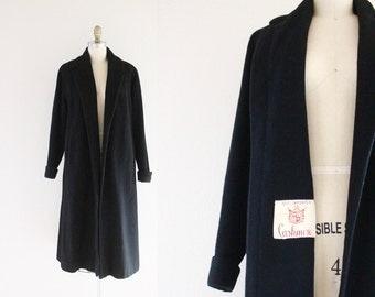 c1950's 100% Cashmere Coat