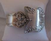 Antique Silverware Bracelet   7.75 inches