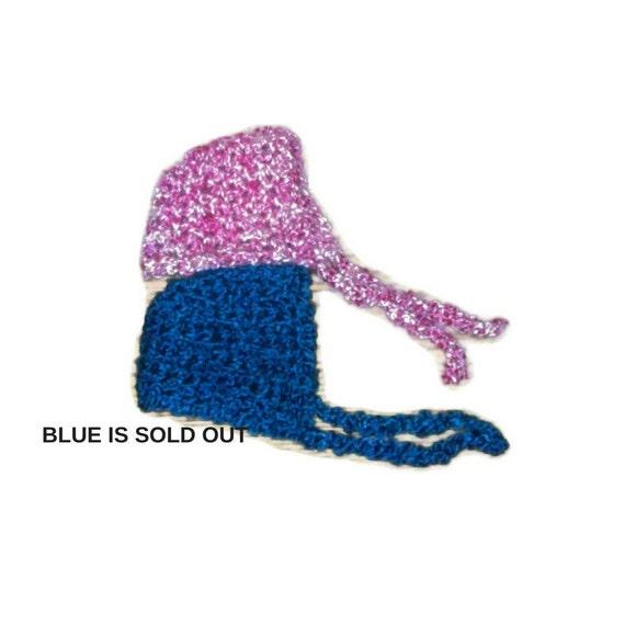 CLEARANCE Newborn Baby Bonnet  Pink Baby Bonnet Super Soft Baby Bonnet