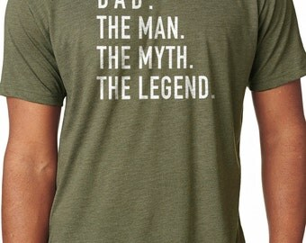 Dad Shirt The Man The Myth The Legend Husband Shirt Shirt for Dad Father Gift Dad Gift Funny T shirts
