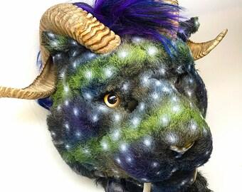 Aurora Fursuit Head