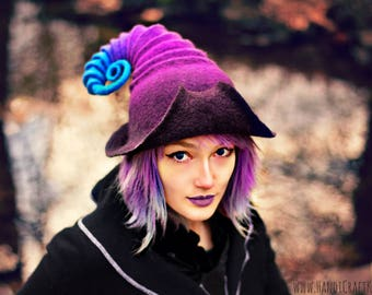 "Costume Hat. ""Galaxy Fedora"". Fantasy Hat. Cosplay Hat. LARP."