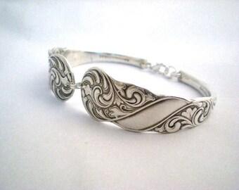 ROYAL 1890, Spoon Bracelet, Bridesmaid Bracelets, Bridesmaid Gift, Silverware Bracelet, Antique Silverware Jewelry