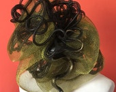 Mardi Gras Costume. Medusa headpiece