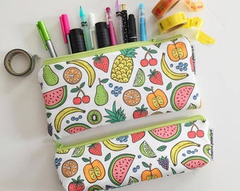 pencil pouch -- fruit of the spirit