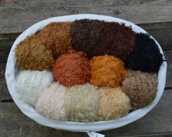 Wild Large Loop Mohair Yarn - Doll Making