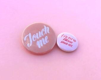 Touch Me button set