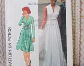 Simplicity Size 12 Misses' Dress In Two Lengths Pattern 6672