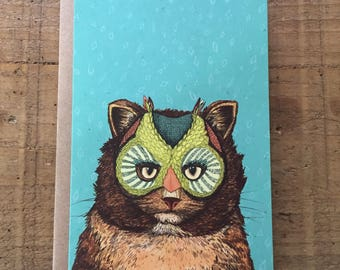 OwlCat // Greeting Card