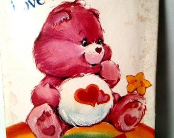 6232 Butterick Love-a-Lot Bear Pattern Care Bear