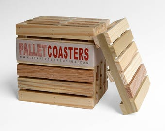 Pallet Coasters - Set of Four