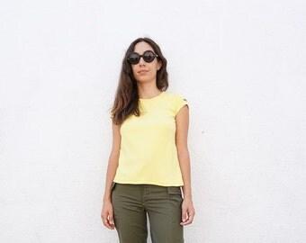 Tshirt Adidas 80s Yellow sz. M-L