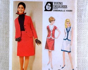 Vintage Schnittmuster Butterick 4795 1960er Jahre