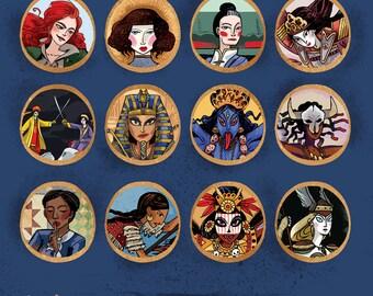 SALE Calendar of Powerful Women for 2017