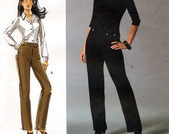 Vogue V2913 Today's Fit by Sandra Betzina Sewing Pattern for Misses' Pants - Uncut - All Sizes