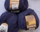 Alpaca Blend Yarn by Filatuda Di Crosa made in Italy in purple called Apalite