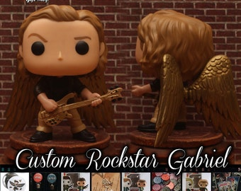 Rock Deities Supernatural Gabriel- Custom Funko pop toy