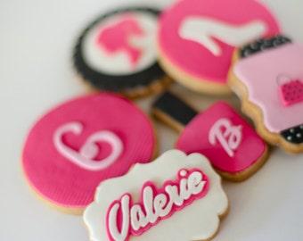 Barbie Cookie Set