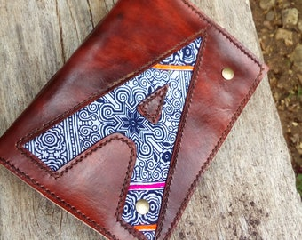 "ABC...Leather Journal / Handmade / Diary / 6""X4"" / FREE initials / LINED or Plain"