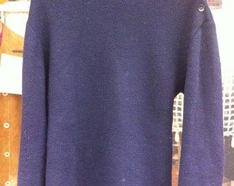 1970 Saint-James French Sailor Navy Sweater