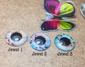 Realistic Eyechips for Neo Blythe doll Jewel 1-3