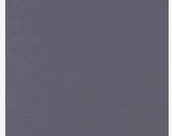Coal, Kona Cotton, Robert Kaufman Fabrics, 1/2 Yard