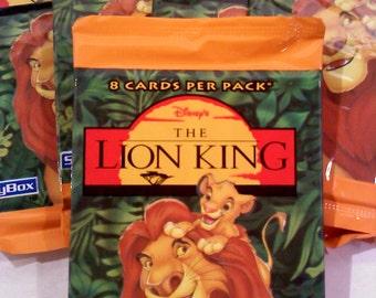 Disney's LION KING Trading Cards