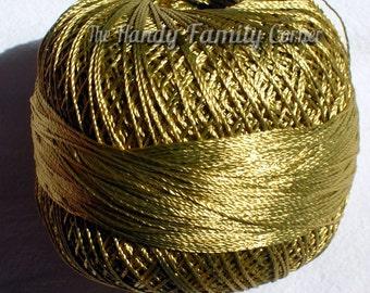 Ajur Ball Viscose Silk Yarn. Vegan silk. Shining, Superfine Lace weight. Bright crochet yarn. Tassel yarn. Color mustard (12). DSH(P1)