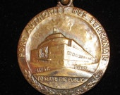 1920's New York Port Authority Bus Terminal Medal/Fob