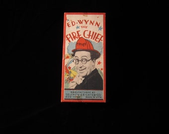 Aunthenic VTG 1937 Ed Wynn Fire Chief Radio Show Game without the Board