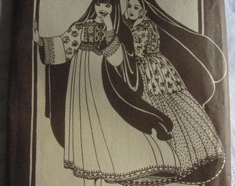 Folkwear 107 Afghani Nomad Dress S-L Ethnic Sewing Pattern 70s Hippie Pattern