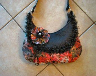 Handmade Ladies Fringe Victorian Hobo Bag Boho Hippie Gypsy Crossbody Purse