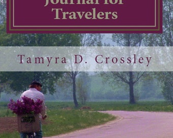 Interactive Journal for Travelers.  paperback, book, diary, record, blank, notebook, memories, quote, writing, travel, trip, free ship,