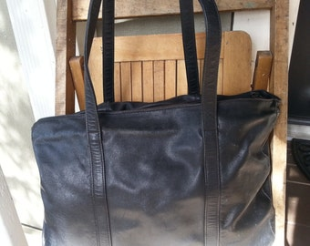 EXTRA   ///   Large Leather Tote