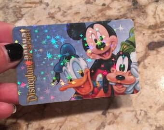 Starlight Sparkle card overlay, Glitter Disney Pass,  Hologram overlay, Hologram glitter, Badge overlay, Universal Studios pas