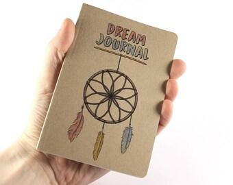 Dream Journal, Small Notebook Dream Catcher